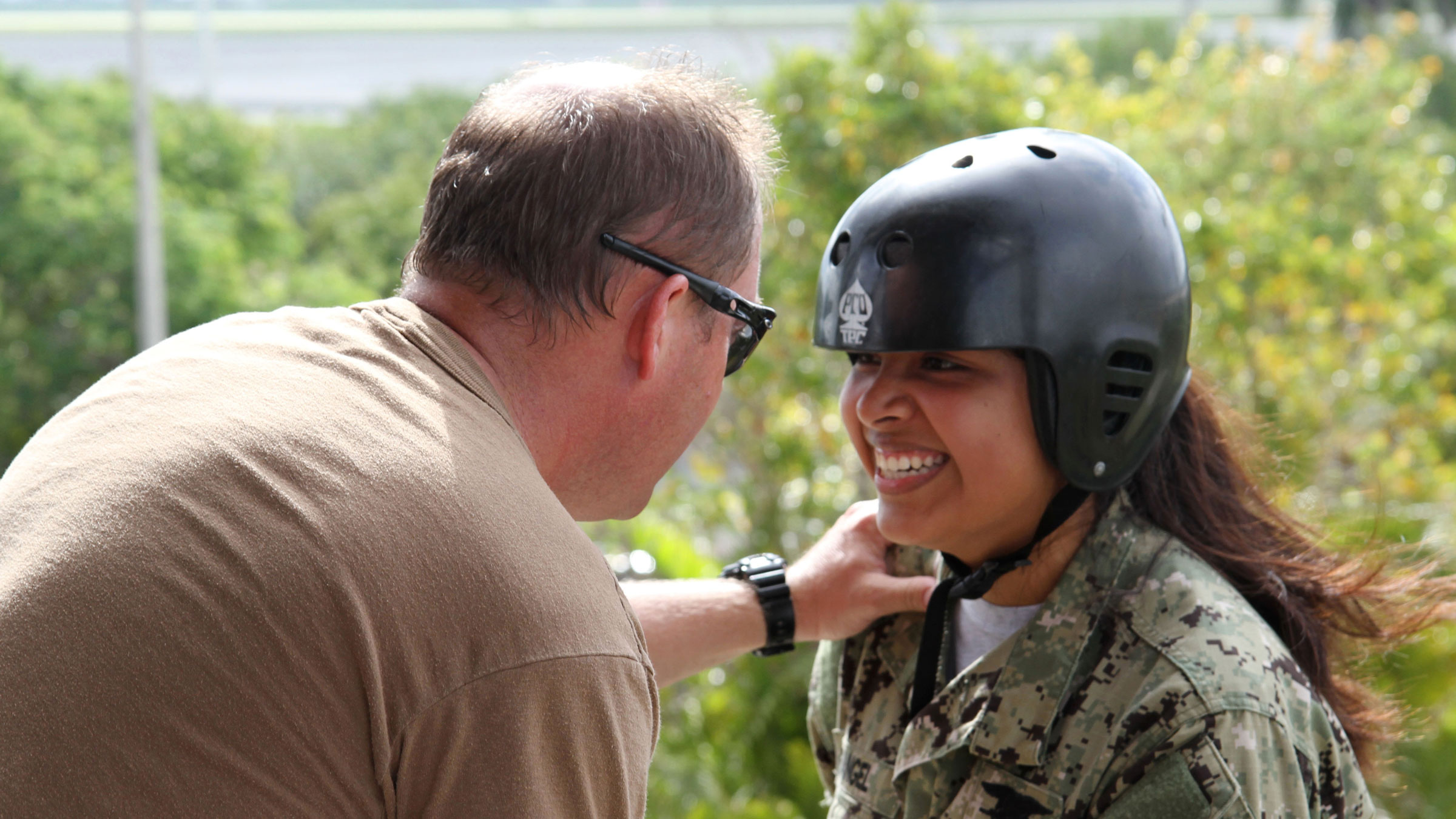JROTC cadets take part in military training day at Homestead ARB