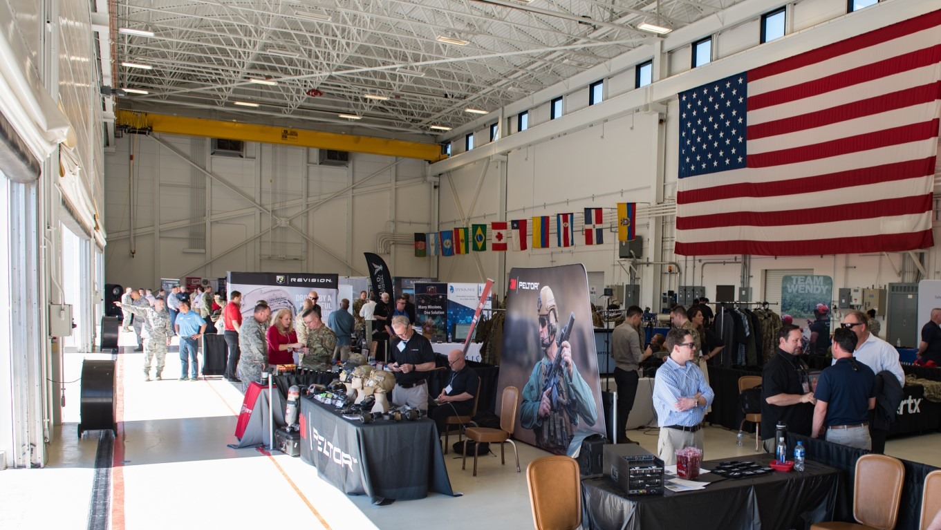 The Annual Air Force Installation and Mission Support Industry Day held at Joint Base San Antonio-Lackland, Texas.