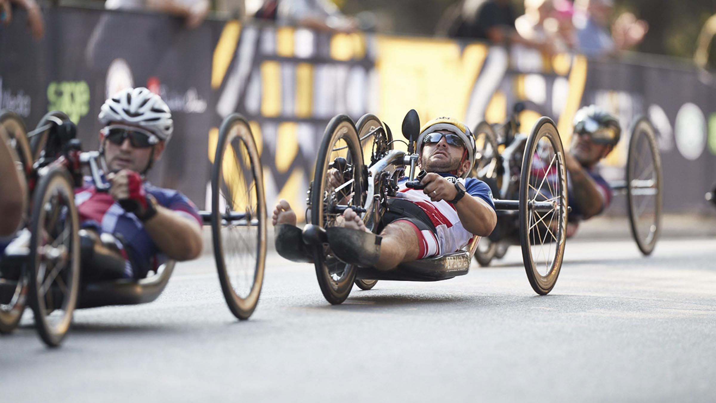 Invictus Games Cycling