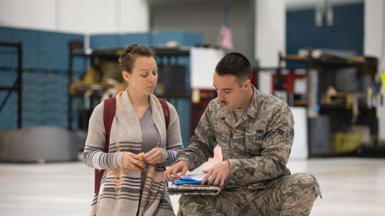 Service member and spouse