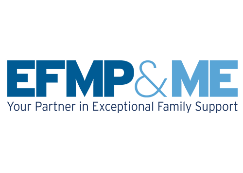 EFMP&Me Your Partner in Exceptional Family Support logo