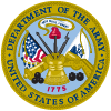 Army military service seal