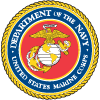 Marine Corps military service seal