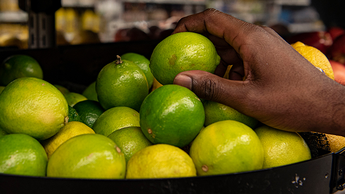 shopping for limes