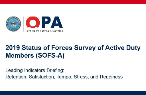 2019 Status of the Forces Survey