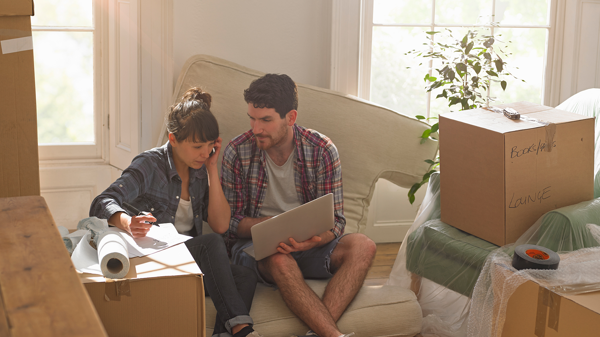 Couple planning for move